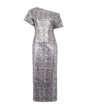 CHRISTOPHER KANE - Sequin Snake Print Dress