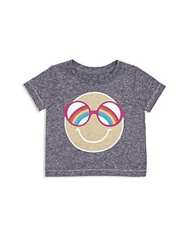 Peek Kids - Girls' Ophelia Happy Graphic Tee - Baby