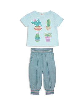 Peek Kids - Unisex Cactis Maya Tee & Gauze Pants Set - Baby