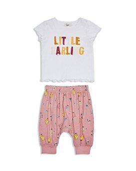 Peek Kids - Girls' Dinah Little Darling Top & Pants Set - Baby