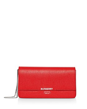 Burberry - Leather Grace Clutch