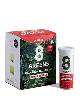 8Greens - Effervescent Tablets - Blood Orange, Pack of 6