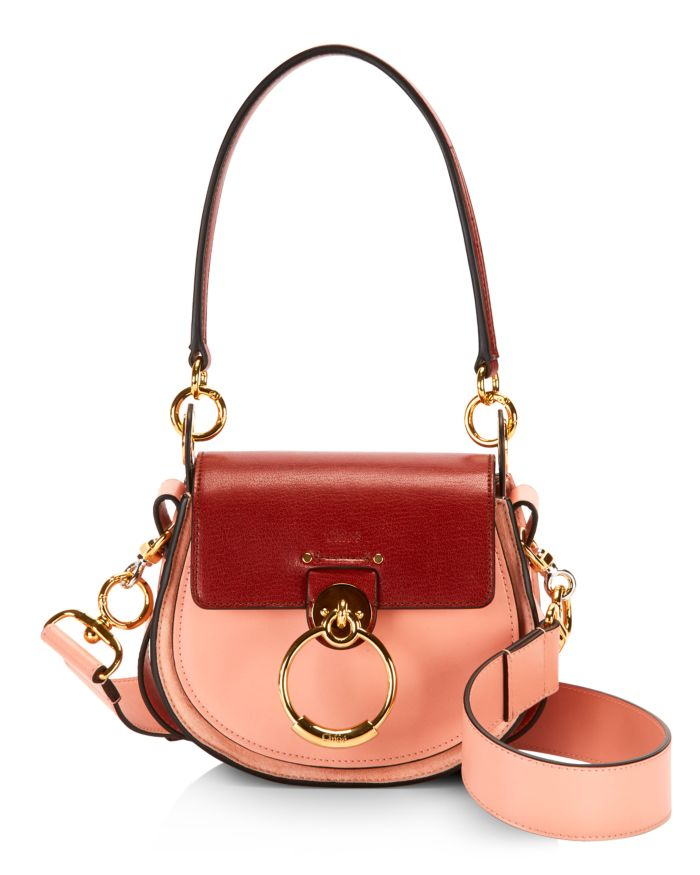 Chloé Tess Mini Leather Shoulder Bag  | Bloomingdale's