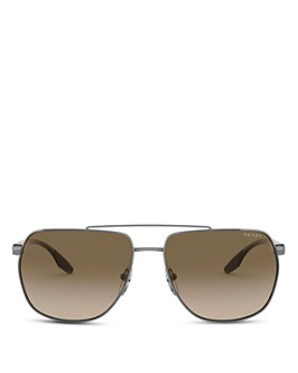 Prada - Men's Rectangle Metal Sunglasses, 62mm