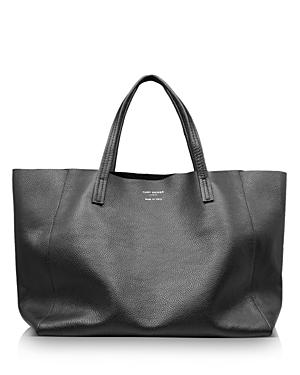 Kurt Geiger London Violet Extra Large Horizontal Leather Tote-Handbags