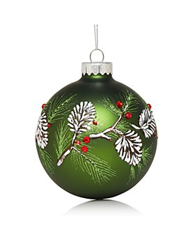 Bloomingdale's - Glass Ball Ornament - 100% Exclusive