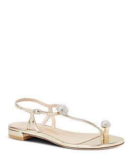 Stuart Weitzman - Women's BallsOfFire Embellished Strappy Sandals