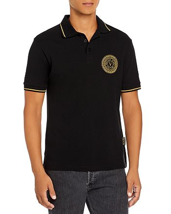 Versace Jeans Couture - Slim Fit Medallion Polo