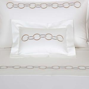 Frette Links Embroidery Boudoir Sham