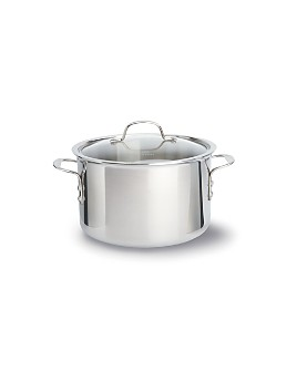 Calphalon - Tri-Ply Stainless Steel 8-Quart Covered Stock Pot