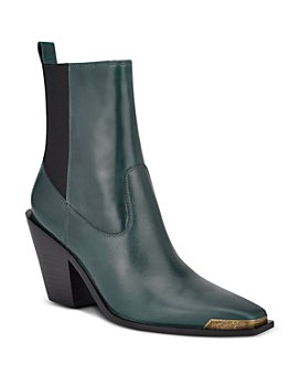 Sigerson Morrison - Women's Faith Pointed Toe High Heel Booties