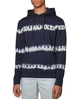 BOSS - Cotton Tie Dyed Hoodie