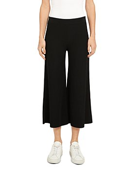 Theory - Henriet Cropped Wide Leg Pants