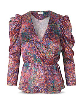 Notes du Nord - Passion Printed Blouse
