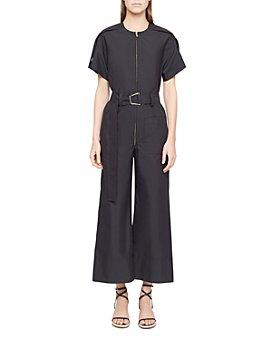 3.1 Phillip Lim - Cutout Belted Jumpsuit