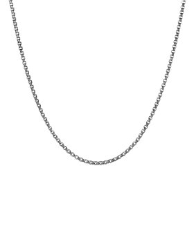 David Yurman - Men's Small Box Chain Necklace 2.7mm, 26""
