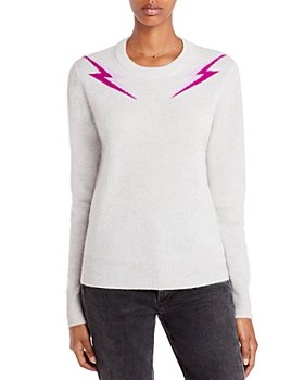 AQUA - Lightning Bolt Cashmere Sweater - 100% Exclusive