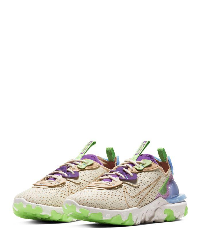 Nike Women's React Vision Low Top Sneakers    Bloomingdale's
