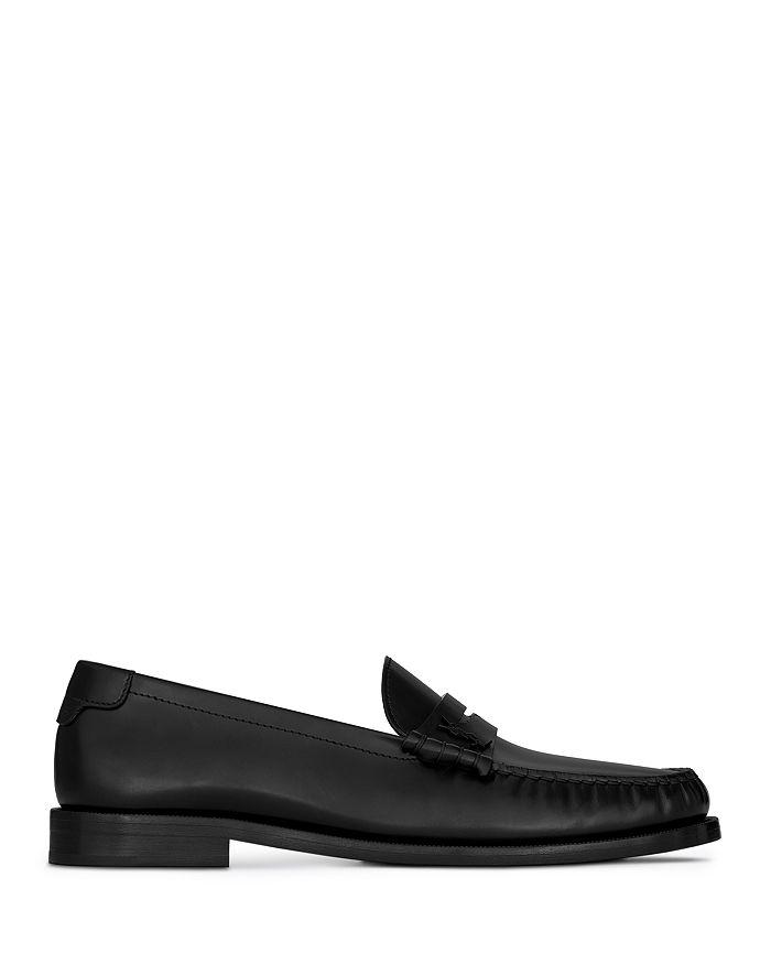 Saint Laurent - Men's Le Loafer Moc Toe Penny Loafers