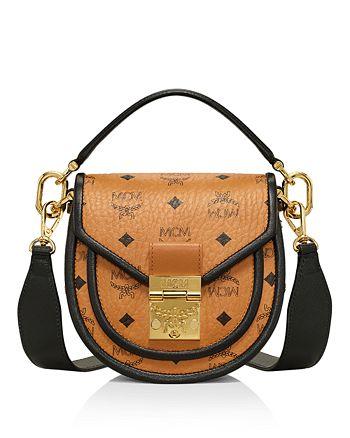 MCM - Patricia Visetos Mini Shoulder Bag