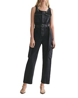 AGOLDE - Elin Denim Jumpsuit in Photogram