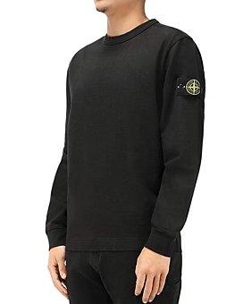 Stone Island - Cotton Solid Logo-Patch Sweatshirt