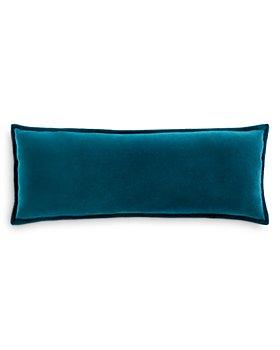 """Surya - Cotton Velvet Decorative Pillow, 12"""" x 30"""""""