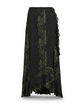 ALLSAINTS - Cosmo Masala Printed Wrap Skirt