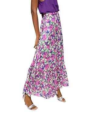 Pinko Appule Floral Print Skirt-Women