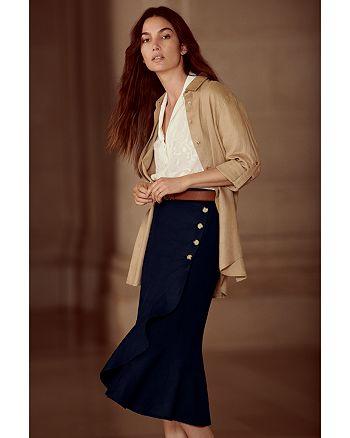 Ralph Lauren - Linen Shirt, Wrap Skirt & More