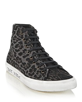 Saint Laurent - Women's Malibu High Top Sneakers
