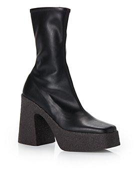 Stella McCartney - Women's Block Heel Platform Booties