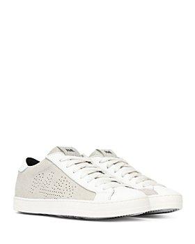 P448 - Women's John Glitter Platform Sneakers