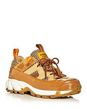 Burberry - Women's Arthur Low Top Sneakers