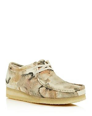Clarks Men\\\'s Wallabee Camo Print Chukka Boots
