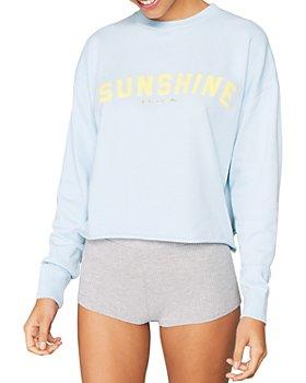 Spiritual Gangster - Sunshine Mazzy Crop Pullover Sweatshirt