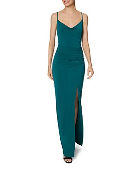 Laundry by Shelli Segal - Cowlneck Gown