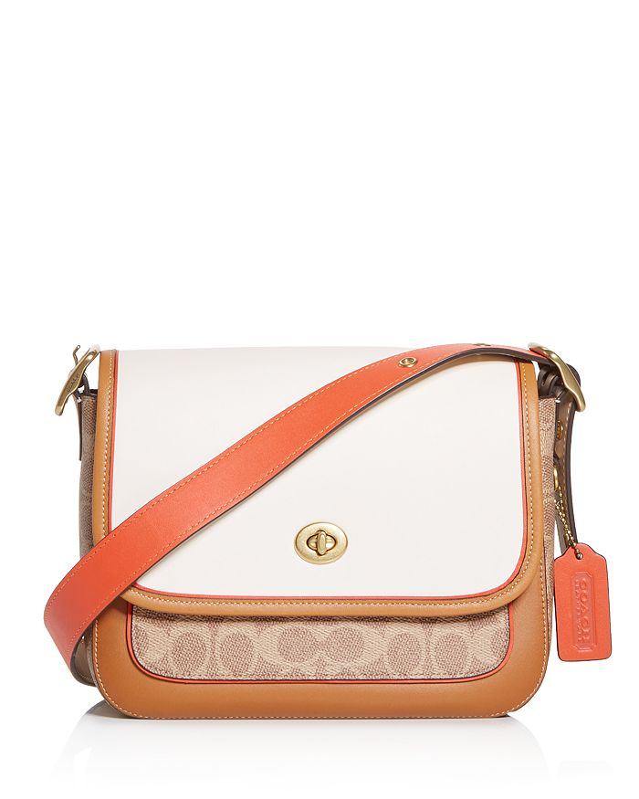COACH - Rambler Signature CC Color Block Crossbody