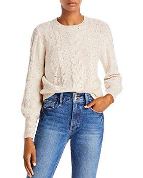 AQUA - Cable Cashmere Sweater - 100% Exclusive