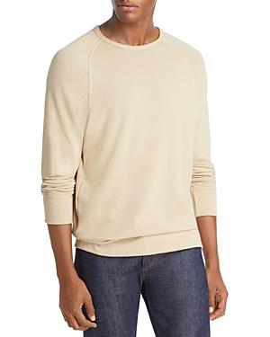Vince Garment Dyed Crewneck Sweatshirt