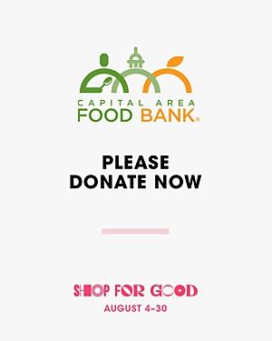 Capital Area Food Bank Donation