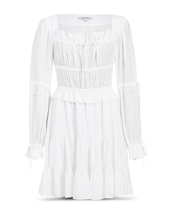 ALLSAINTS - Kimi Square Neck Tiered Dress