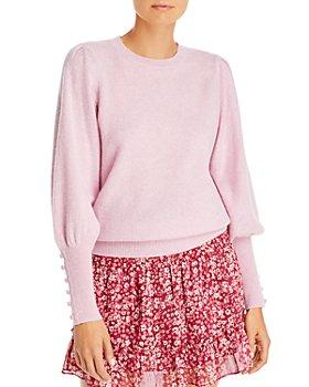 AQUA - Cashmere Balloon Sleeve Sweater - 100% Exclusive