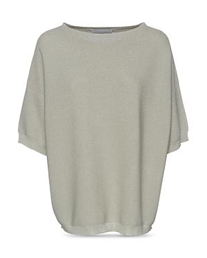 Fabiana Filippi Dolman Sleeve Metallic Sweater-Women