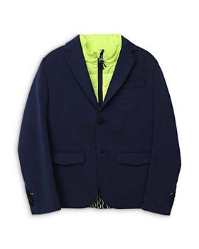 BOSS Hugo Boss - Boys' Milano 2-in-1 Color Blocked Jacket, Big Kid