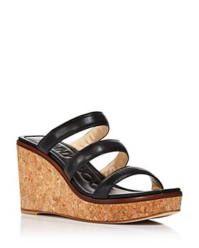 Jimmy Choo - Women's Athenia 90 Strappy Wedge Sandals
