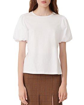 Maje - Topline Balloon Sleeve T-Shirt