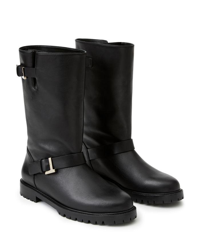 Lafayette 148 New York Women's Jordan Buckled Boots  | Bloomingdale's
