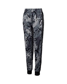 Adidas - Boys' Camo Print Fleece Jogger Pants - Little Kid