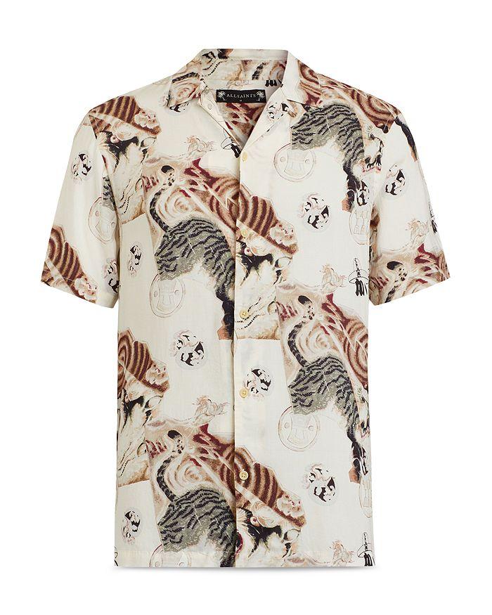 Allsaints Shirts AKITA PRINTED SHIRT